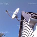 Триколор ТВ, тарелка 0,55 м. Волгоградская область, Ерзовка