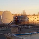 Приемо-передающая станция спутниковой связи, тарелка 1,8м. Волгоградская область, Городище