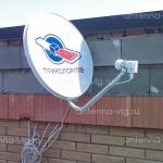 Триколор ТВ, тарелка 0,55 м. Волгоградская область, Варваровка