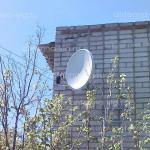 Телекарта, тарелка 0,6 м. Волгоград, дачи Мичуренец