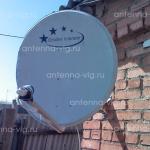 Телекарта, тарелка 0,75 м. Волгоградская область, Малые Чапурники