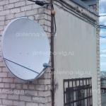 АзерСпейс, тарелка 0,9 м. Волгоград, Дзержинский район