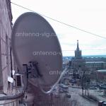 Триколор ТВ, тарелка 0,55 м. Волгоград, Центральный район