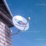 Триколор ТВ, тарелка 0,55 м. Волгоградская область, Пичуга