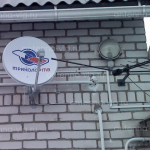 Триколор ТВ, тарелка 0,55 м. Волгоград, Краснооктябрьский район