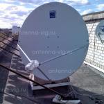 Двустронний интернет, тарелка 1,2 м. Волгоград, Центральный район