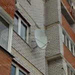 Телекарта, тарелка 0,9 м. Волгоград, Кранооктябрьский район