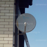 Триколор ТВ на 4 тв, тарелка 0,6 м. Волгоград, поселок Солнечный