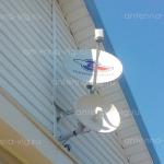 Триколор ТВ, тарелка 0,55 м. Волгоград, Советский район