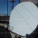 Триколор ТВ, тарелка 0,9 м. Крым, Севастополь