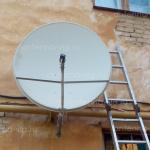МТС ТВ, тарелка 0,9 м. Волгоград, Красноармейский район