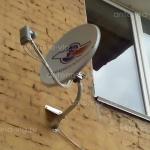 Триколор ТВ на 2 тв, тарелка 0,55 м. Волгоград, нижний тракторный